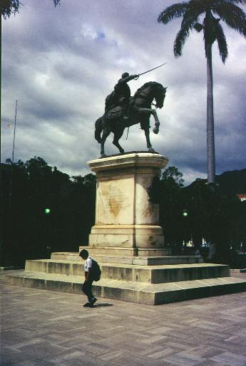 Simon Bolivar at Merida